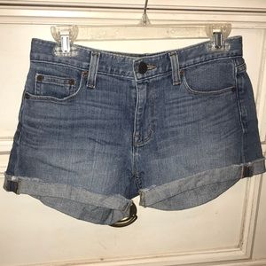 J Crew jean shorts - indigo denim